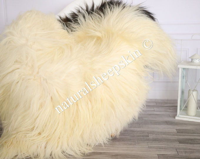 Icelandic Sheepskin | Real Sheepskin Rug | Sheepskin Rug Beige Brown | Fur Rug | Homedecor #MAYISL5