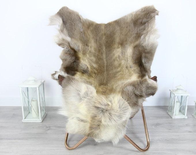 Reindeer Hide | Reindeer Rug | Reindeer Skin | Throw XXL EXTRA LARGE - Scandinavian Style #HRE8