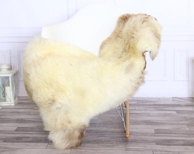 Sheepskin Rug | Real Sheepskin Rug | Shaggy Rug | Sheepskin Throw | Sheepskin Rug Brown Beige | Chirtmas Home Decor | #1HER64