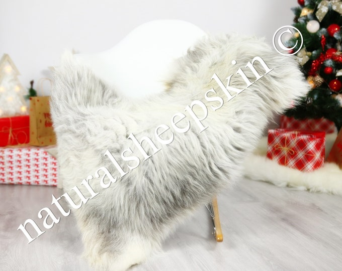 Organic Sheepskin Rug, Real Sheepskin Rug, Gute Sheepskin, Brown Sheepskin Rug Christmas Home #GUTCHRIS4