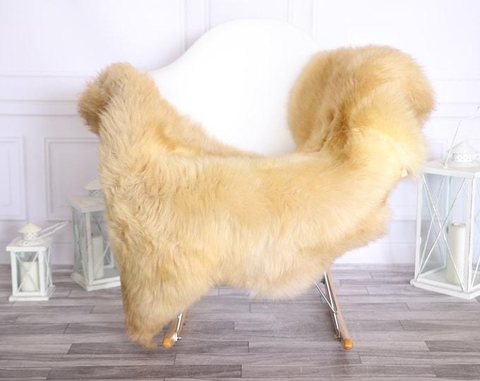 Sheepskin Rug | Real Sheepskin Rug | Shaggy Rug | Scandinavian Rug | | SCANDINAVIAN DECOR | Beige Sheepskin #OLHER21