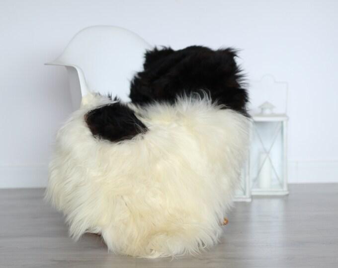 Real Icelandic Sheepskin Rug Scandinavian Decor Sofa Sheepskin throw Chair Cover Natural Sheep Skin Rugs White Blanket Fur Rug #4isl25