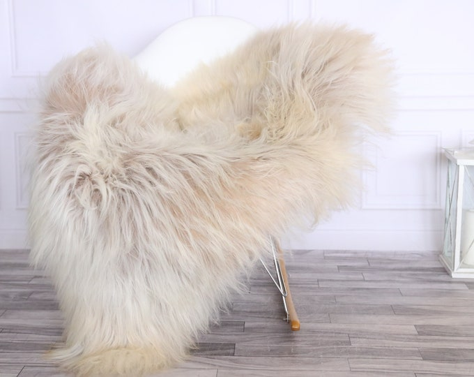Icelandic Sheepskin | Real Sheepskin Rug | CHRISTMAS DECOR | Sheepskin Rug Beige | Fur Rug | Homedecor #LISISL6
