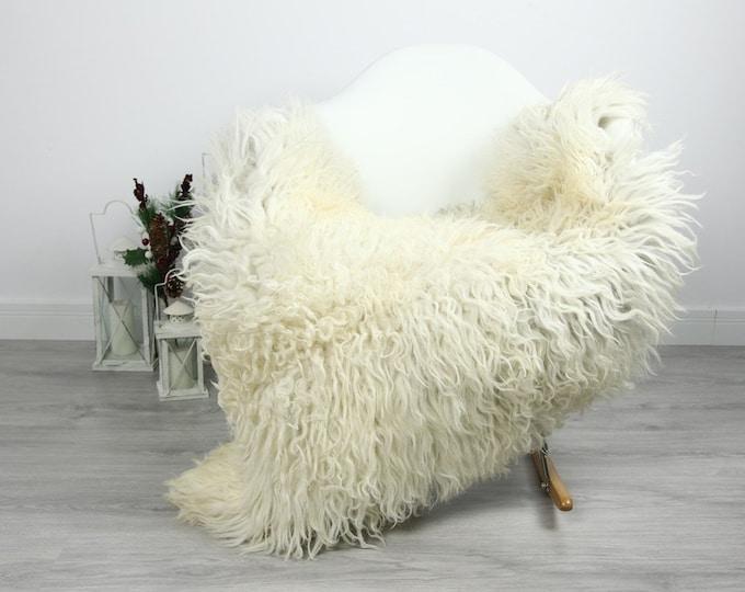 Organic Sheepskin Rug, Real Sheepskin Rug, Curly Sheepskin, Gray Beige Sheepskin Rug Christmas Home #CURLGUT22