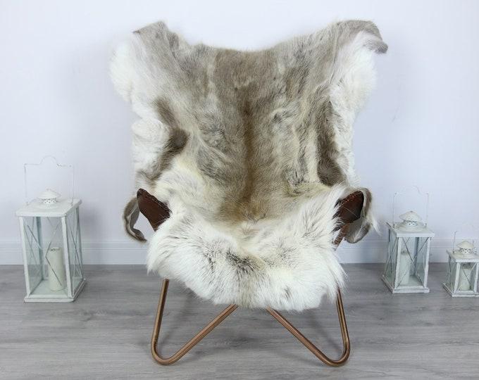 Reindeer Hide | Reindeer Rug | Reindeer Skin | Throw XXL EXTRA LARGE - Scandinavian Style #HRE1