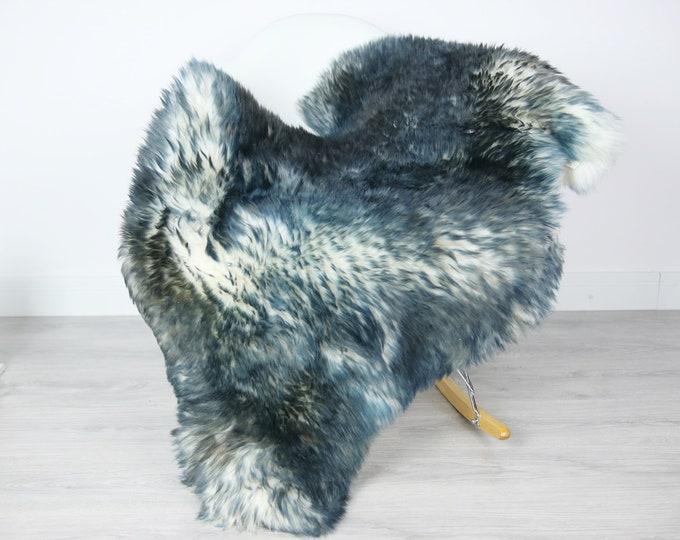 Sheepskin Rug | Real Sheepskin Rug | Shaggy Rug | Scandinavian Rug | Sheepskin Throw Blue Tips Sheepskin | SCANDINAVIAN DECOR | #3HER14