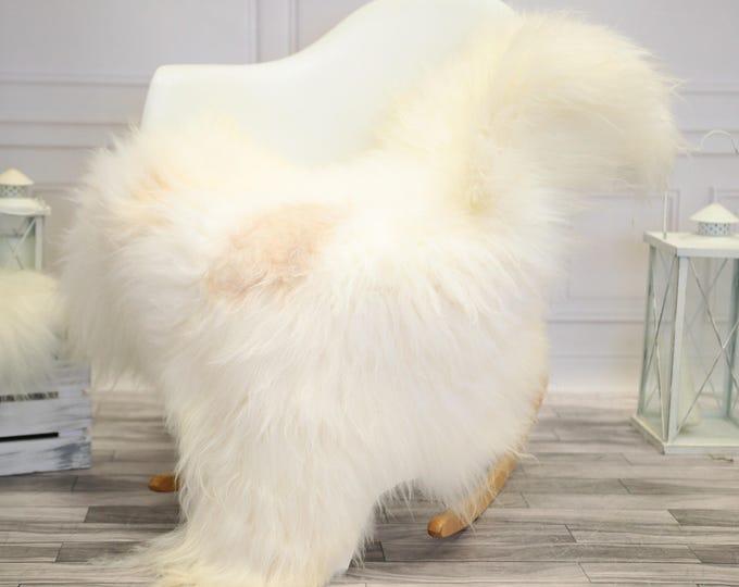 Icelandic Large Sheepskin | Real Sheepskin Rug | Ivory Sheepskin Rug | Fur Rug |  Home decor #JANISL36