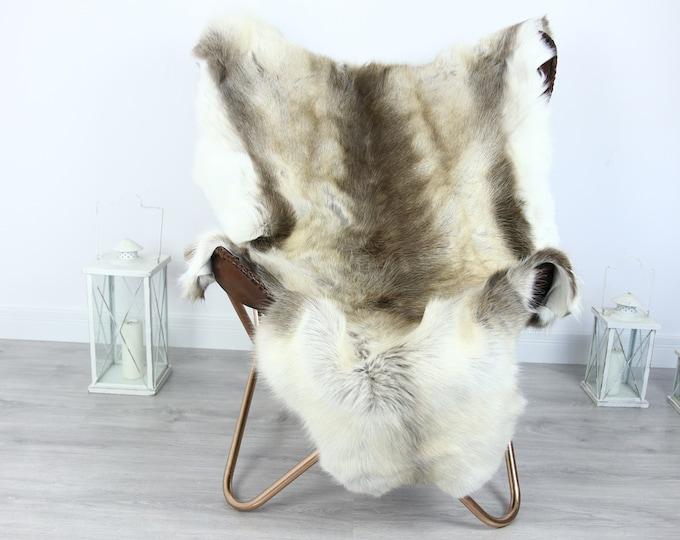 Reindeer Hide   Reindeer Rug   Reindeer Skin   Throw XXL EXTRA LARGE - Scandinavian Style #HRE24