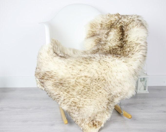Sheepskin Rug | Real Sheepskin Rug | Shaggy Rug | Scandinavian Rug | Sheepskin Throw Brown Sheepskin | SCANDINAVIAN DECOR | #3HER5