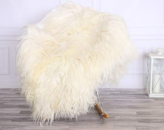 Icelandic Sheepskin | Real Sheepskin Rug | CHRISTMAS DECOR | Sheepskin Rug Beige White | Fur Rug | Homedecor #LISISL30