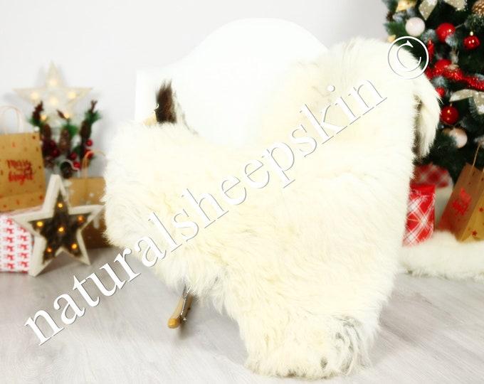 Organic Sheepskin Rug, Real Sheepskin Rug, Gute Sheepskin, Ivory Sheepskin Rug Christmas Home #GUTCHRIS9