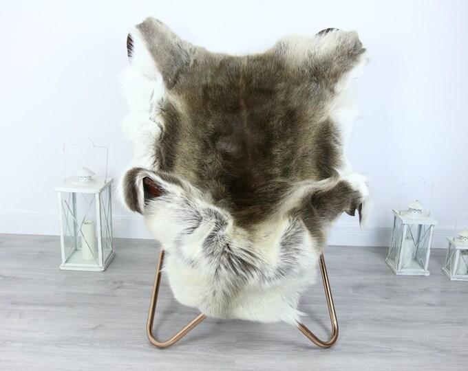 Reindeer Hide   Reindeer Rug   Reindeer Skin   Throw XXL EXTRA LARGE - Scandinavian Style #HRE23