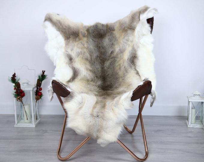 Reindeer Hide | Reindeer Rug | Reindeer Skin | Throw  - Scandinavian Style #ERE23 125x100 | Christmas Decor |