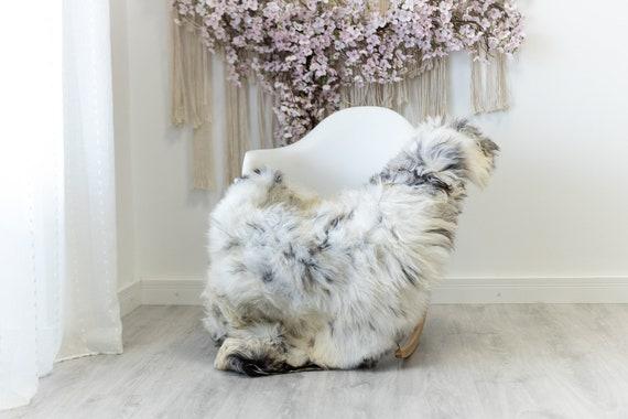 Real Sheepskin Rug Shaggy Rug Chair Cover Scandinavian Home Sheepskin Throw Sheep Skin White Brown Sheepskin Home Decor Rugs #herdwik130