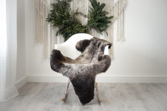 Real Sheepskin Rug Shaggy Rug Chair Cover Scandinavian Home Sheepskin Throw Sheep Skin White Brown Sheepskin Home Decor Rugs #herdwik382