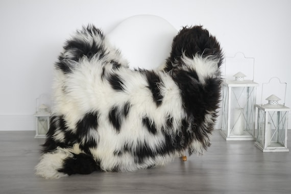 Real Sheepskin Rug Shaggy Rug Chair Cover Sheepskin Throw Sheep Skin White Brown Sheepskin Home Decor Rugs #6her15