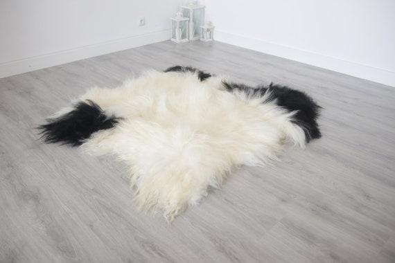 Real Icelandic Double Sheepskin Rug Scandinavian Decor Sofa Sheepskin throw Chair Cover Natural sheep skin rugs blanket fur rug #Islszyt1