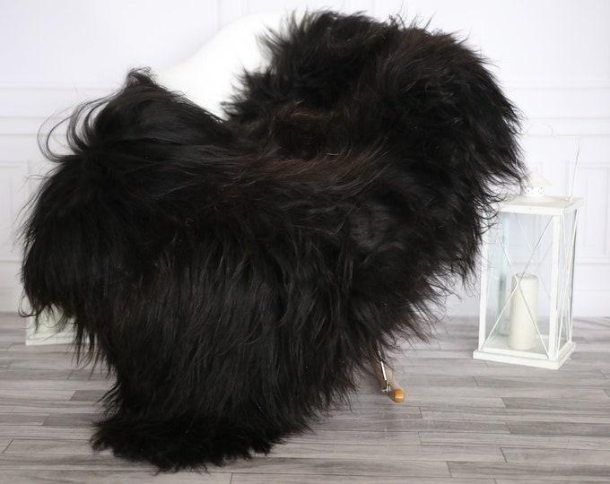 Icelandic Sheepskin | Real Sheepskin Rug | Large Sheepskin Rug Brown | Fur Rug | Homedecor #APRISl47