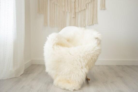Real Sheepskin Rug Shaggy Rug Chair Cover Scandinavian Home Sheepskin Throw Sheep Skin Blonde Sheepskin Home Decor Rugs #herdwik329