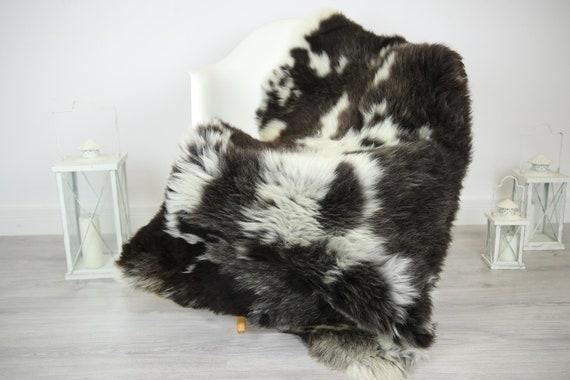 Sheepskin Rug | Real Sheepskin Rug | Shaggy Rug | Chair Cover | Sheepskin Throw | Brown Beige Sheepskin | Home Decor | #JAC23