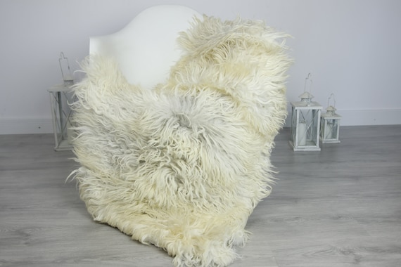Organic Sheepskin Rug, Real Sheepskin Rug, Gute Sheepskin, Christmas Home Decor, Beige Sheepskin Rug #7her39