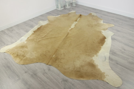 Premium Quality Giant XXXL Cowhide | Real Cowhide Rug | Sand Cowhide | #COW2