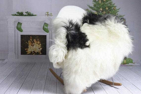 Icelandic Sheepskin | Real Sheepskin Rug | Christmas Home | White Sheepskin | Christmas Decor | XXL EXTRA LARGE  | #Islzim59
