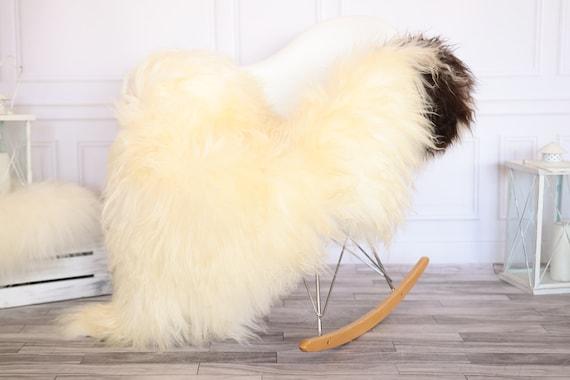 Icelandic Sheepskin | Real Sheepskin Rug | Ivory Sheepskin Rug | Fur Rug |Scandinavian dedcor | #JANISL67