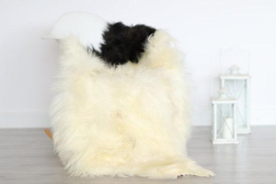 Real Icelandic Sheepskin Rug Scandinavian Decor Sofa Sheepskin throw Chair Cover Natural Sheep Skin Rugs Ivory Blanket Fur Rug #4isl3