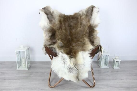 Reindeer Hide | Reindeer Rug | Reindeer Skin | Throw XXL EXTRA LARGE - Scandinavian Style #HRE2