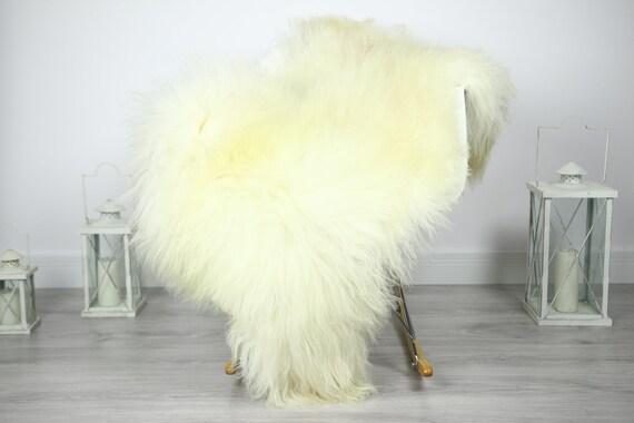 Icelandic Sheepskin   Real Sheepskin Rug   Sheepskin Rug Beige Brown   Fur Rug   Homedecor #3Isl5