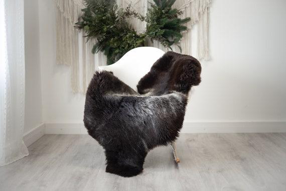 Real Sheepskin Rug Shaggy Rug Chair Cover Scandinavian Home Sheepskin Throw Sheep Skin White Brown Sheepskin Home Decor Rugs #herdwik381