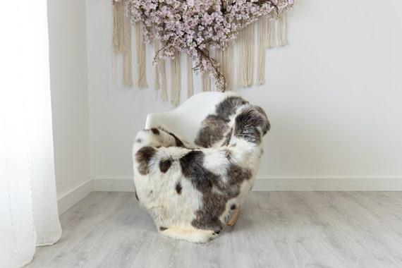 Real Sheepskin Rug Shaggy Rug Chair Cover Scandinavian Home Sheepskin Throw Sheep Skin White Brown Sheepskin Home Decor Rugs #herdwik213