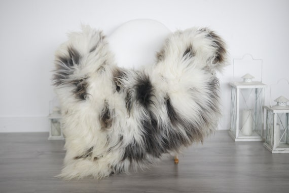 Real Sheepskin Rug Shaggy Rug Chair Cover Sheepskin Throw Sheep Skin White Brown Sheepskin Home Decor Rugs #6her5