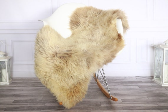 Sheepskin Rug   Real Sheepskin Rug   Shaggy Rug   Sheepskin Throw   Sheepskin Rug Brown   Chirtmas Home Decor   #1HER36
