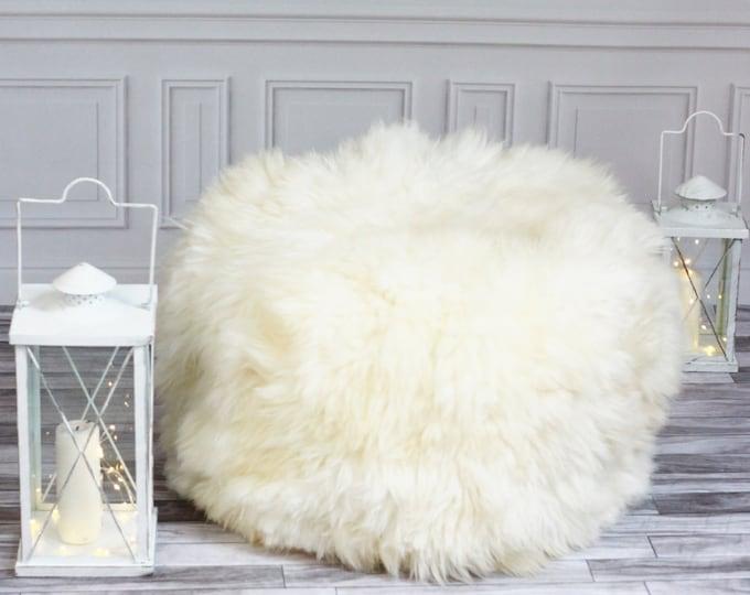 Sheepskin Beanbag   Sheepskin Bean Bag   Sheepskin Pouf   Bean Bag Furry Bean Bag   Kids Bean Bag   Beanbag   Floor Pillow  