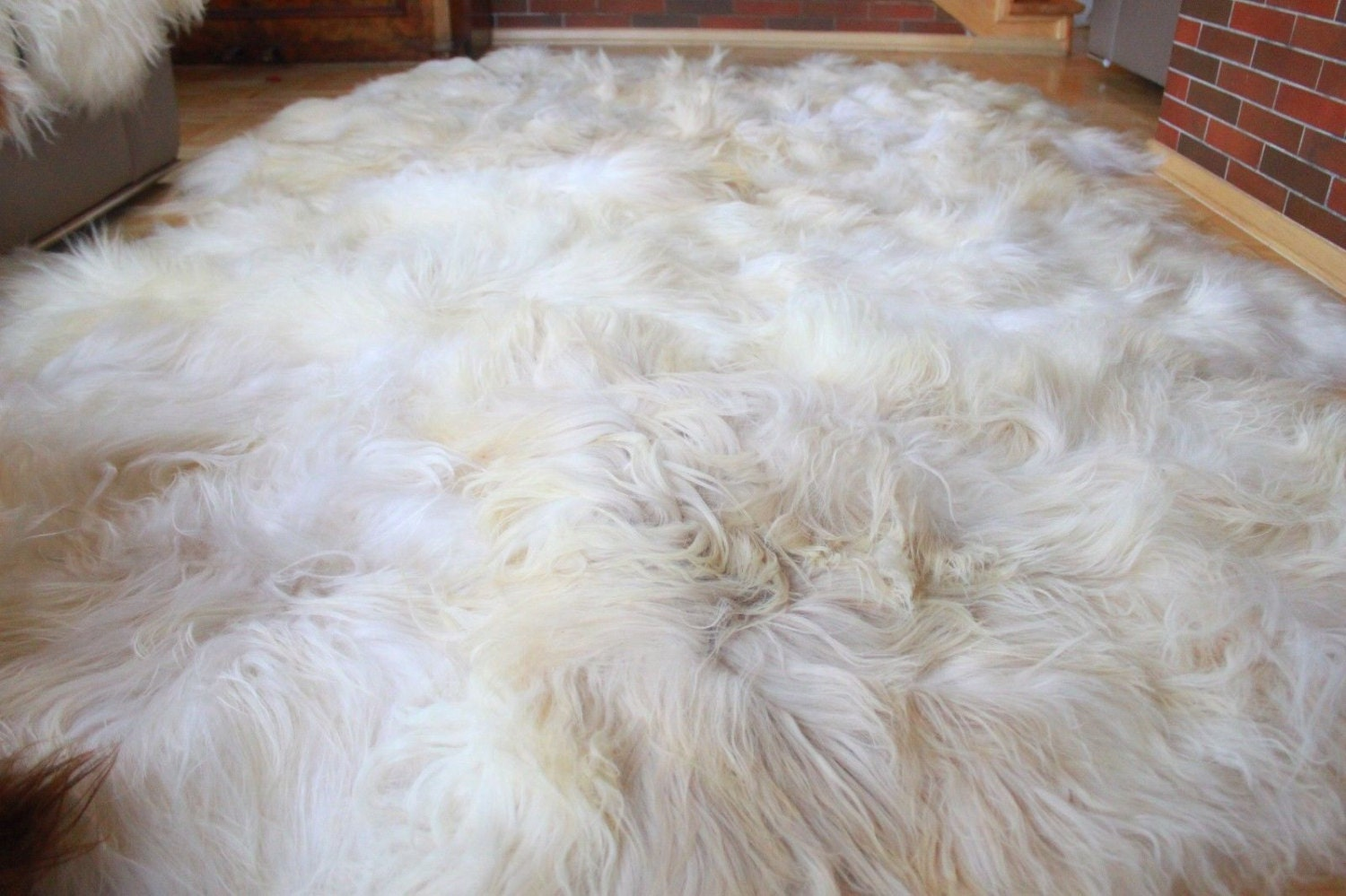 On Sale Exclusive Genuine Natural Rare Icelandic Sheepskin