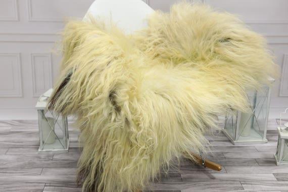Icelandic Sheepskin | Real Sheepskin Rug | Ivory Beige Sheepskin Rug | Fur Rug | #islsept20