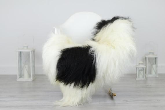 Real Icelandic Sheepskin Rug Scandinavian Decor Sofa Sheepskin throw Chair Cover Natural Sheep Skin Rugs Ivory Blanket Fur Rug #Babisl28