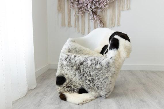 Real Sheepskin Rug Shaggy Rug Chair Cover Scandinavian Home Sheepskin Throw Sheep Skin White Brown Sheepskin Home Decor Rugs #herdwik218