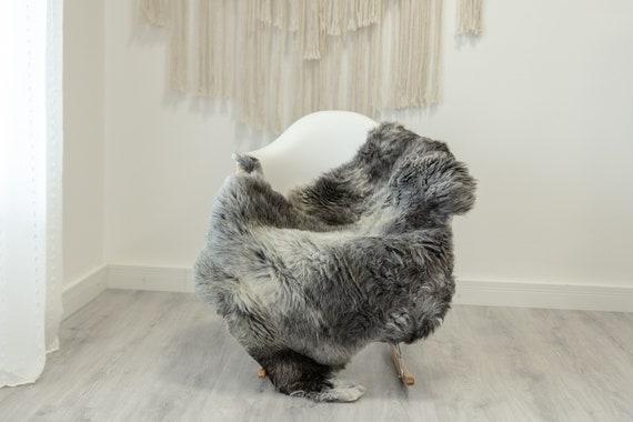 Real Sheepskin Rug Shaggy Rug Chair Cover Scandinavian Home Sheepskin Throw Sheep Skin White Gray Sheepskin Home Decor Rugs #Gut84