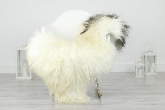 Real Icelandic Sheepskin Rug Scandinavian Decor Sofa Sheepskin throw Chair Cover Natural Sheep Skin Rugs Ivory Blanket Fur Rug #Babisl22