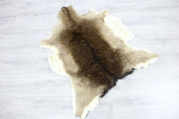 Deer Hide | Deer Rug | Deer Skin | Throw L  Large - Scandinavian Style | Home Decor | #SAR7