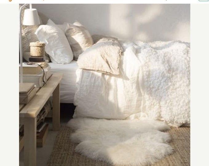 Sheepskin Rug | White Sheepskin Rug | Real Sheepskin rug | Sheepskin Throw |  Double Sheepskin Rug | Quatro Sheepskin Rug | Octo Shepskin