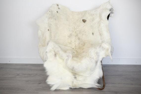 Reindeer Hide | Reindeer Rug | Reindeer Skin | Throw XXL EXTRA LARGE - Scandinavian Style Christmas Decor Brown Hide #Ire13