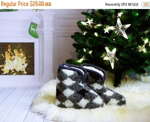 ON SALE Sheepskin Slippers   100%  WOOL Medical Slippers   Women's Slippers   Gift for Her   Gift For Girl   Gift for Mother   Gift for Gran