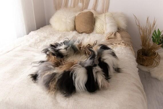 Sheepskin Cat bed | Sheepskin Dog bed | Cat Pouf | Dog Pouf | Sheepskin Cat Mat | Dog Mat | Pet Bed | Fur Pet Bed