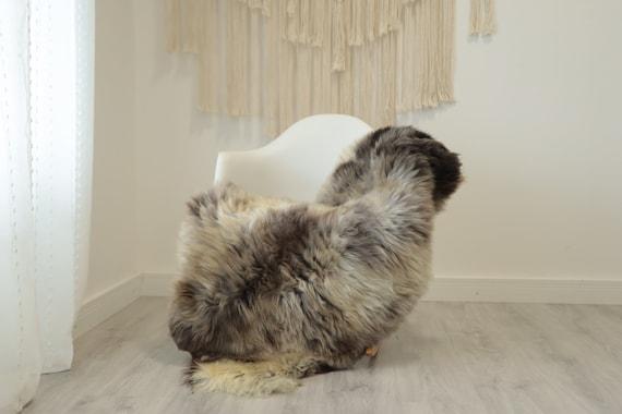 Real Sheepskin Rug Shaggy Rug Chair Cover Scandinavian Home Sheepskin Throw Sheep Skin White Brown Sheepskin Home Decor Rugs #herdwik339