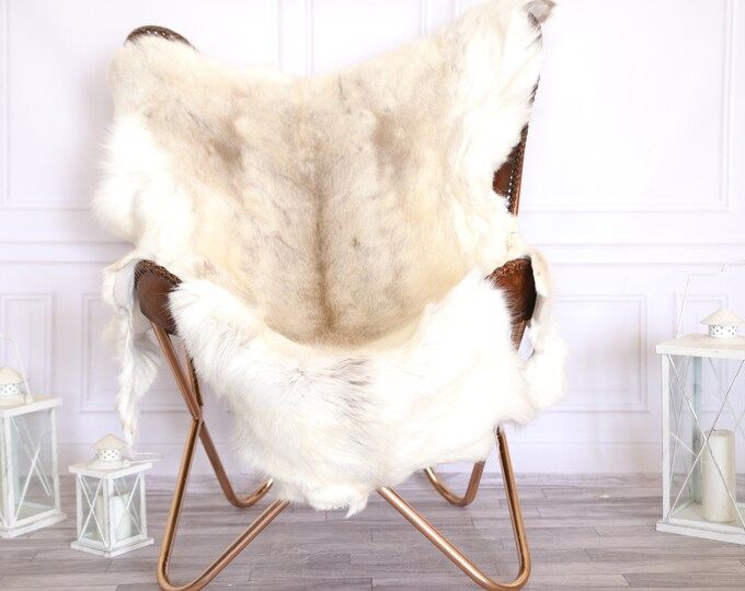 Reindeer Hide | Reindeer Rug | Reindeer Skin | Throw Large  - Scandinavian Style #22RE11