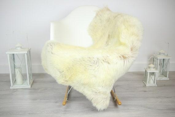 Sheepskin Rug | Real Sheepskin Rug | Shaggy Rug | Chair Cover | Sheepskin Throw | Brown Sheepskin | Home Decor | #JAC18